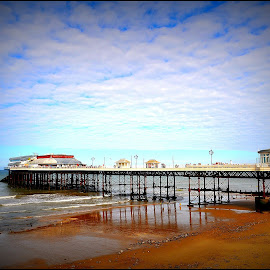Cromer.. by Claire Turner - Landscapes Beaches ( uk, cromer, sunny, norfolk, pier, summer, beach )