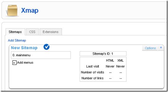 html sitemap generator for joomla theme 2018