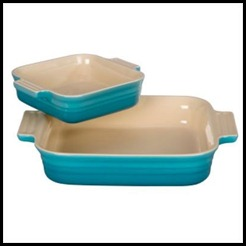 CSN9_ Square Baking Dish with Bonus 5_ Baking Dish in Caribbean