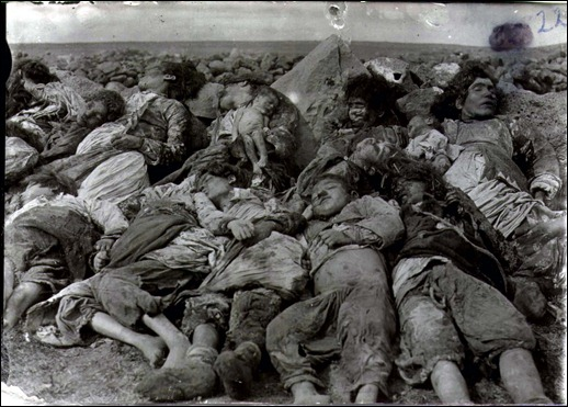 armenian genocide massacre arménios