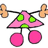 cuerpo niña lunares rosa y verde.JPG