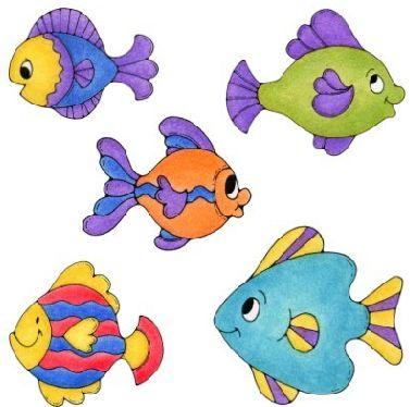 Dibujos infantiles de peces y animales marinos - Imagenes animales infantiles ...