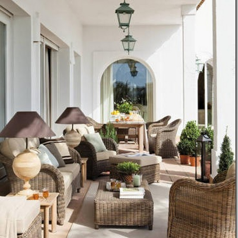 A Spanish house with Belgian influences