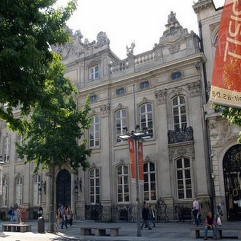 A restored Palais in Antwerp