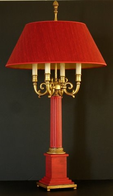 Chambourgh bouillotte table lamp