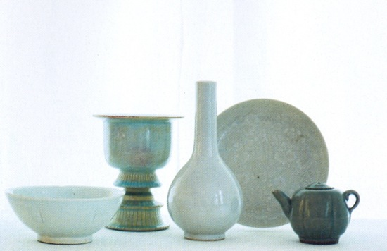 Celadon 7 Antique Chinese pottery (MTC 2010-5)