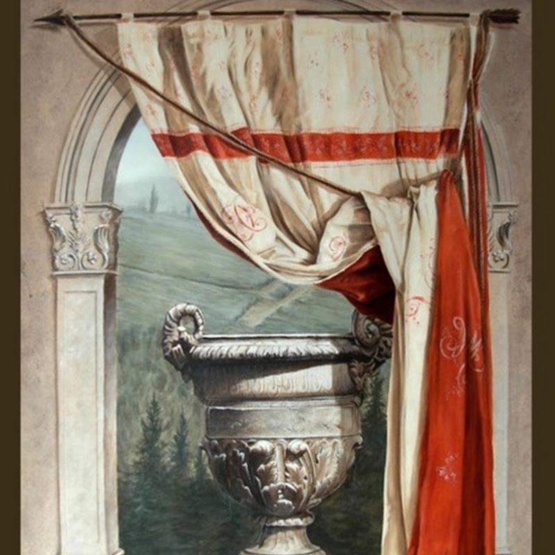 The decorative art of a painter-artist