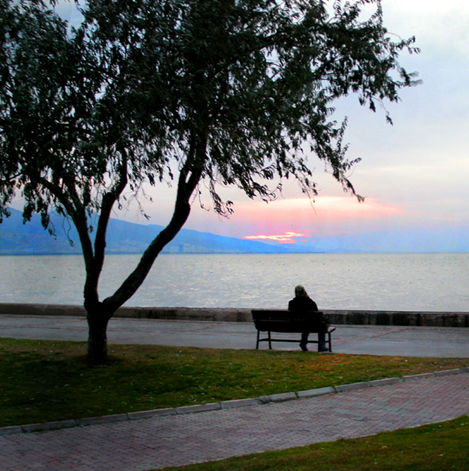 Izmir Turkey Sunset photo