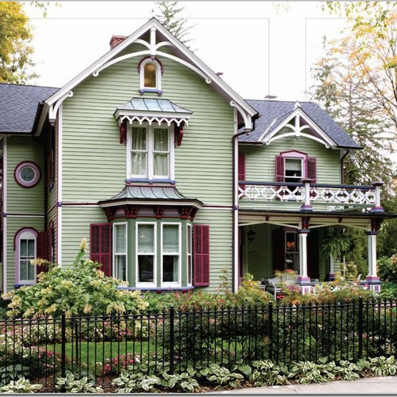 Not your typical Victorian Home.