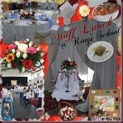Staff Lunch @ King's School