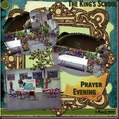 The King's School Prayer Evening