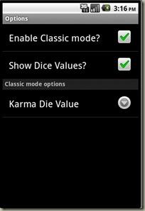 EDDR - Options