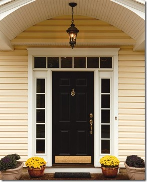 frontdoor.4 & Creative Home Expressions: Paint the Sidelights or Not?