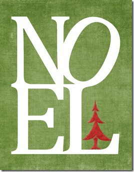 Christmas_Noel_Printable_Green