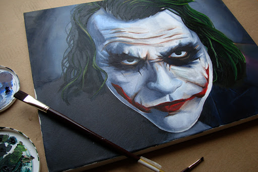 joker, dark knight, dark knight rises, joker art, batman art