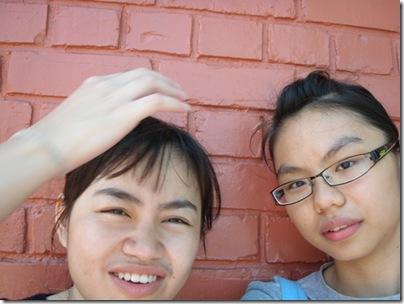 me & Ah Qi