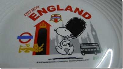Snoopy X Darlie: England plate