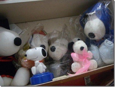 my Snoopy plush toys