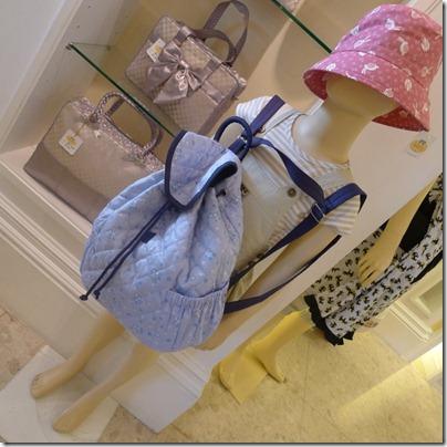 Naraya bagpack & hat