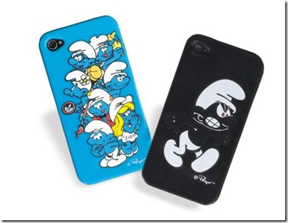 Bossini Smurf Premium Edition iPhone 4 case - HKD 149