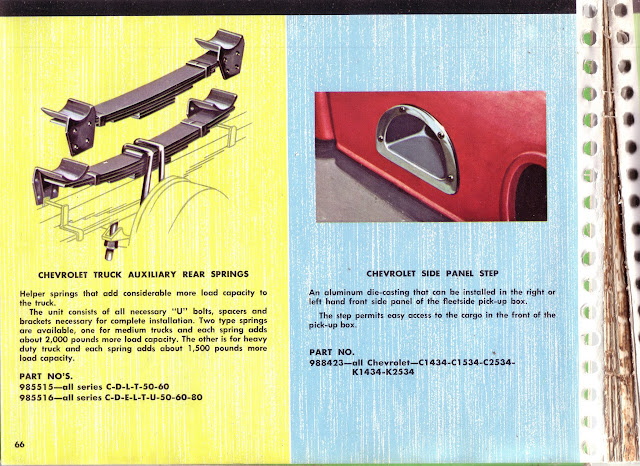 Description et spécifications Chevrolet GMC 1960-1966 Image0-34