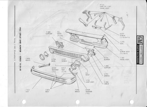 Description et spécifications Chevrolet GMC 1960-1966 Image13