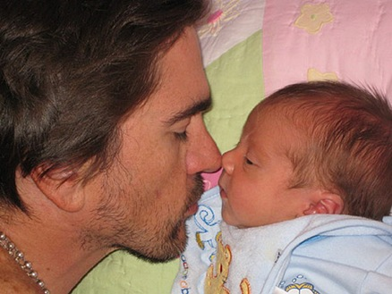 juanes y su hijo