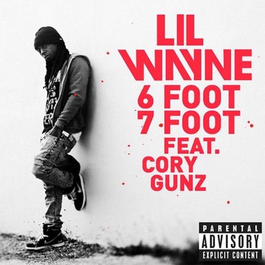 Capa Oficial do Single 6 Foot 7 Foot