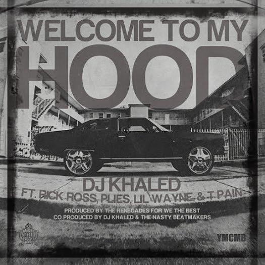 Capa do single Welcome To My Hood