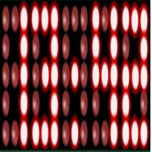 個人化App|24小時紅色 LED時鐘 LOGO-3C達人阿輝的APP