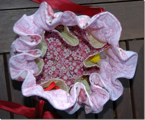 Quilttasche rosa 2