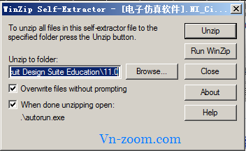 Step 3: Click đúp file NI_Circuit_Design_Suite_11_0_Education