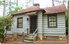 Each Parku0027s Cabins Are Quite Different. Compare This Rustic, In The Woods  Cabin Here At Poinsett To Santeeu0027s Circular Dock Based Facilities.