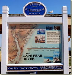 cape fear sign