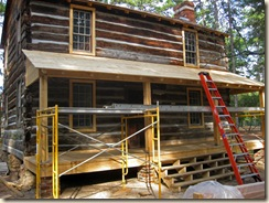 Cabin Renovation Front