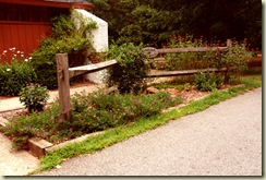 carolina fence garden