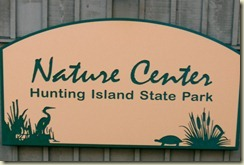 Nature Center Main Sign
