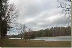 lake from campground