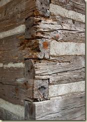 logs corner
