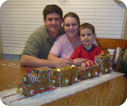Gingerbread Train 2006 - Osborne Family