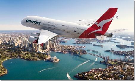 Foto promocional Qantas