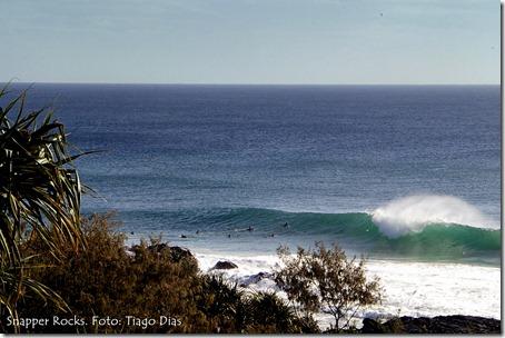 Snapper Rocks. Foto: Tiago Dias