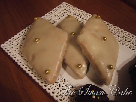mostaccioli cioccolato bianco