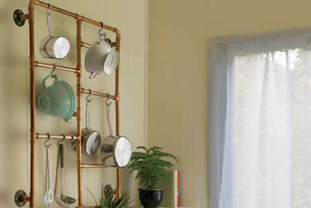 copper pot hanger