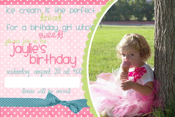 Jaylie's B-Day Invite 2