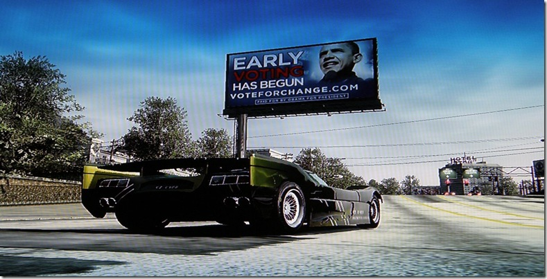 Burnout Paradise Obama Ad