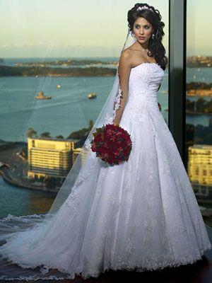elegant bridal wedding dresses