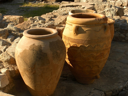 beauty decorative urn pots