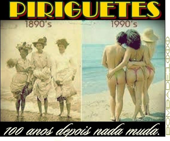 Piriguetes - 100 anos depois