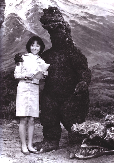 Godzilla photos from the 1950s and 1960s